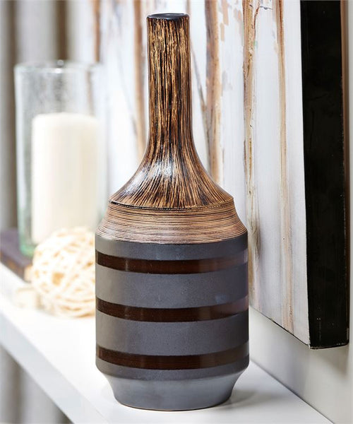 Brown Ceramic Vase