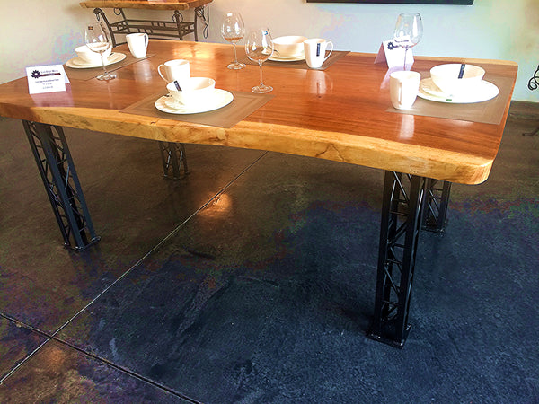 Table (Dining), Live Edge Acacia