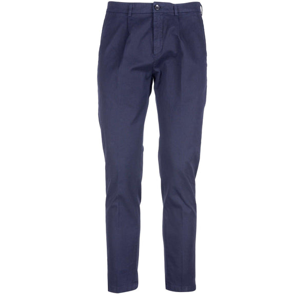 Department Five Pantaloni Uomo Mike, Vestibilità Slim, Cotone, Blu