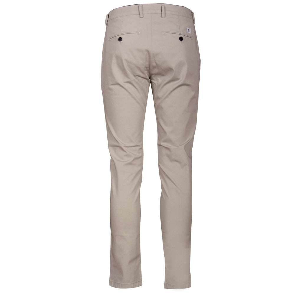 Department Five Mike Pantalone Chino, Uomo, Slim, Cotone, Grigio, bassiniboutique.it