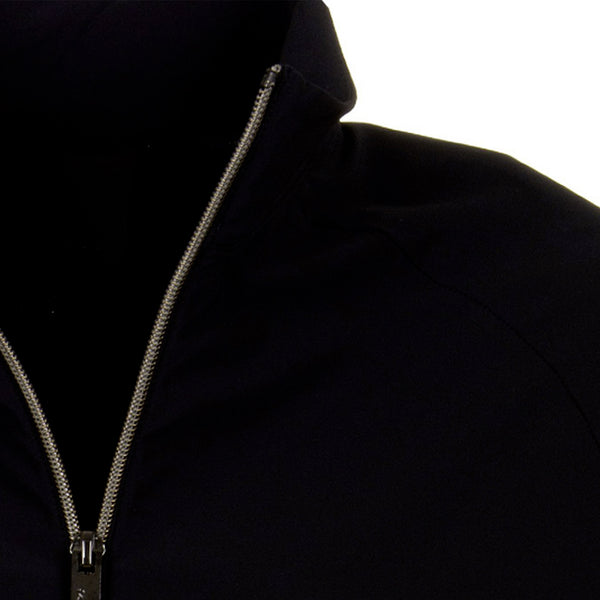 RRD Giacca Fleece Zip Donna, Bomber, Traspirante, Blu Notte, collo alto, bassiniboutique.it