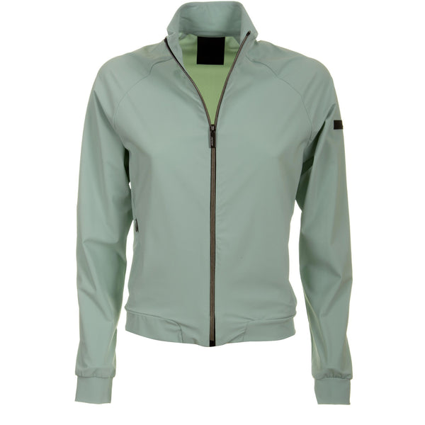 RRD Giacca Fleece Zip Donna, Bomber, Traspirante, Turchese, collo alto, mania lunga, bassiniboutique.it