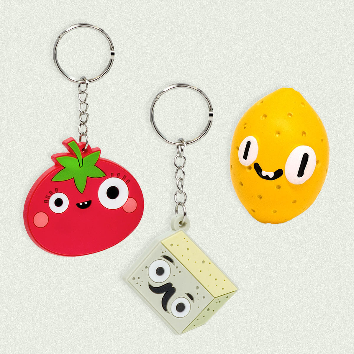 Vegan Keychains & Charms