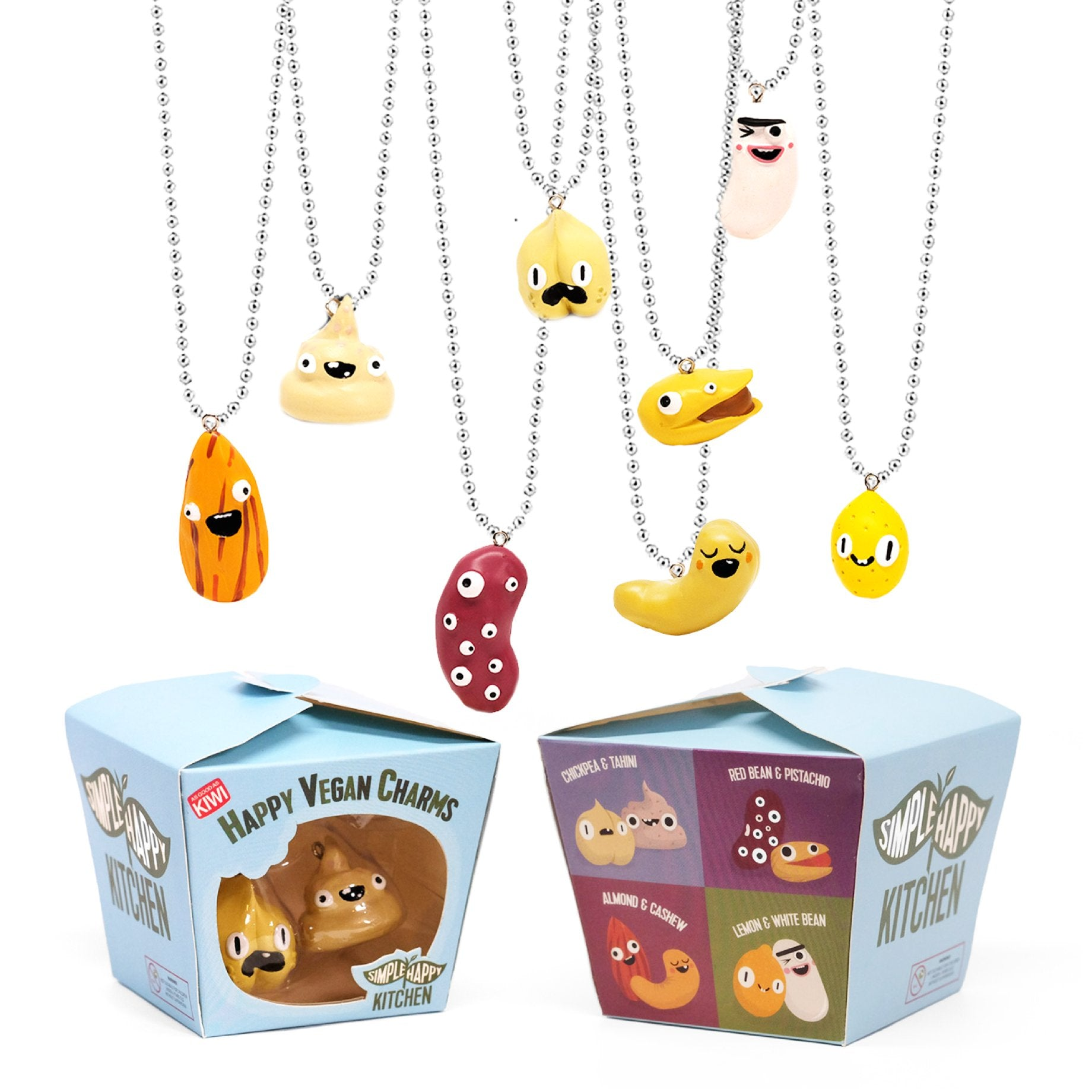 Charms - Food Charms Set - Vegan Jewelry And Toy