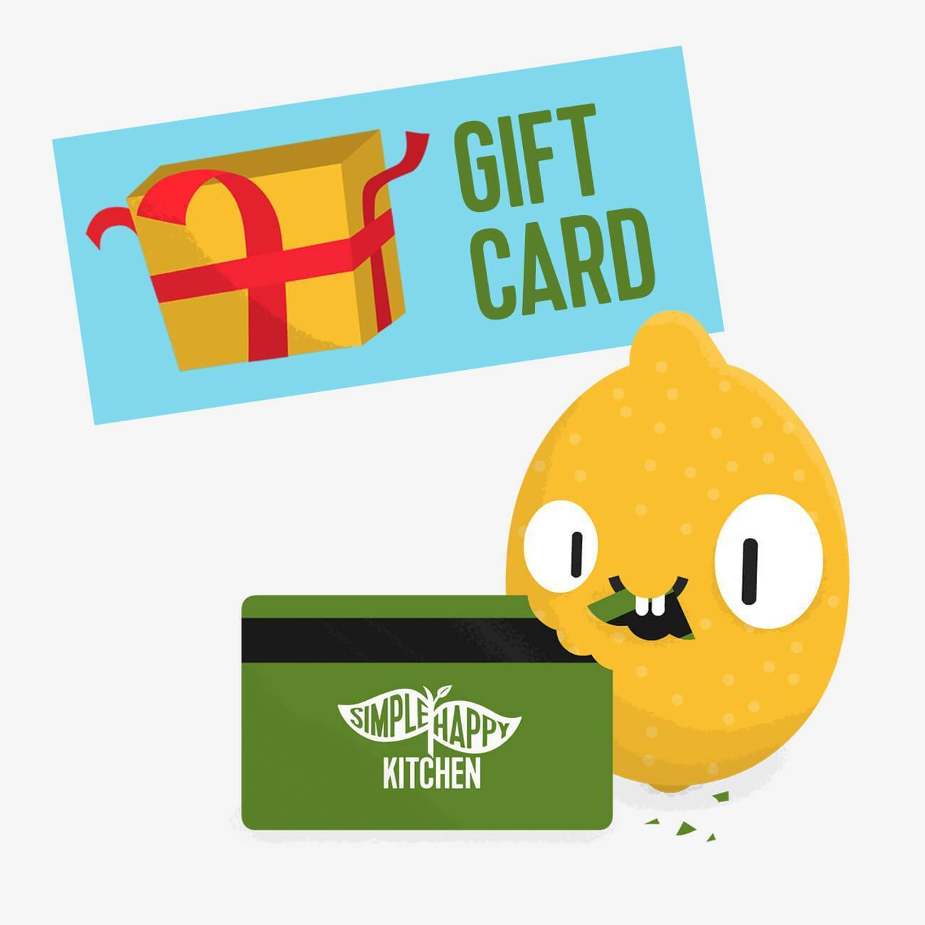 Gift Card - Simple Happy Gift Card