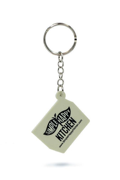 Key Chain - Vegan Designer Keychain - Mr. Tofu