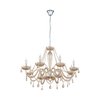 EGLO 39093 BASILANO 8 LIGHT CHANDELIER