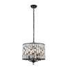 CHIC CH69390IC BRONZE 5 LIGHT PENDANT