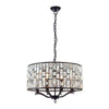 CHIC CH69391IC BRONZE 8 LIGHT PENDANT