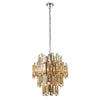 CHIC CH72744IC CHAMPAGNE GLASS 12 LIGHT PENDANT
