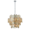 CHIC CH72746IC CHAMPAGNE GLASS 15 LIGHT PENDANT