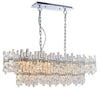 CHIC CH76436IC 12 LIGHT GLASS PENDANT