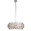 CHIC CH76508IC NICKEL 6 LIGHT PENDANT