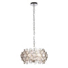 CHIC CH76509IC NICKEL 4 LIGHT PENDANT