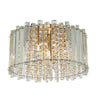 CHIC CH78698IC CLEAR CRYSTAL GLASS FLUSH