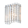 CHIC CH78700IC CLEAR CRYSTAL GLASS WALL LIGHT