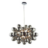 CHIC CH80124IC BLACK CHROME 8 LIGHT PENDANT