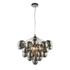 CHIC CH80199IC BLACK CHROME 6 LIGHT PENDANT