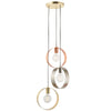 ENDON 81922 HOOP 3 LIGHT PENDANT