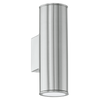 EGLO 94107 RIGA UP/DOWN WALL LIGHT STAINLESS STEEL