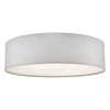 DAR CIE5015 CIERRO 4 LIGHT FLUSH IVORY
