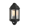 FORUM CZ-26743-BLK ATHENA WALL LIGHT WITH PIR