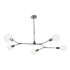 DAR EUP0539 EUPHEMIA 5 LIGHT PENDANT