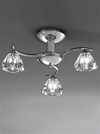 FRANKLITE FL2162/3 TWISTA 3 LIGHT CHROME