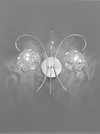 FRANKLITE FL2214/2 ORION WALL LIGHT