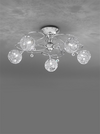FRANKLITE FL2214/5 ORION 5 LIGHT FLUSH