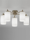 FRANKLITE FL2253/5 DECIMA 5 LIGHT BRONZE DOWN