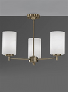 FRANKLITE FL2272/3 DECIMA 3 LIGHT BRONZE UP