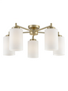 FRANKLITE FL2387-5 DECIMA 5 LIGHT MATT GOLD DOWN