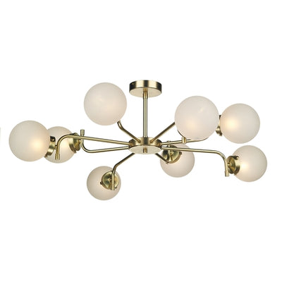 DAVID HUNT JAZ0840 JAZZ 8 LIGHT PENDANT