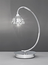 FRANKLITE TL973 TWISTA TABLE LAMP CHROME