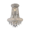 DIYAS IL31442 ALEXANDRA 3 LIGHT CHROME TALL WALL LIGHT