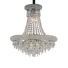 DIYAS IL31450 ALEXANDRA 9 LIGHT CHROME CHANDELIER