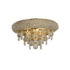 DIYAS IL32100 ALEXANDRA 2 LIGHT GOLD WALL LIGHT
