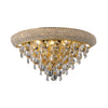 DIYAS IL32101 ALEXANDRA 3 LIGHT MEDIUM GOLD WALL LIGHT