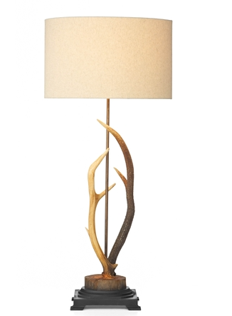 DAVID HUNT ANT4229 ANTLER TABLE LAMP