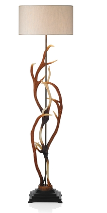 DAVID HUNT ANT4929 ANTLER FLOOR LAMP