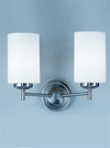 FRANKLITE CO9302/727 DECIMA DOUBLE WALL LIGHT CHROME