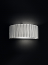 FRANKLITE FL2283/1 LUCERA WALL LIGHT SATIN NICKEL