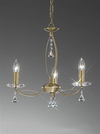 FRANKLITE FL2228/3 MONACO 3 LIGHT BRONZE
