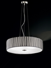 FRANKLITE FL2284/4 LUCERA 4 LIGHT PENDANT SATIN NICKEL