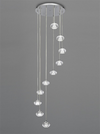 FRANKLITE FL2343/10 TIZZY 10 LIGHT PENDANT