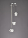 FRANKLITE FL2343/3 TIZZY 3 LIGHT PENDANT