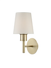 FRANKLITE FL2389-1/1123 TURIN MATT GOLD SINGLE WALL LIGHT