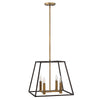 ELSTEAD HK/FULTON/4P HINKLEY FULTON 4 LIGHT PENDANT CHANDELIER