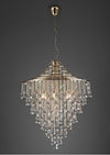DIYAS IL32773 ININA 9 LIGHT PENDANT FRENCH GOLD